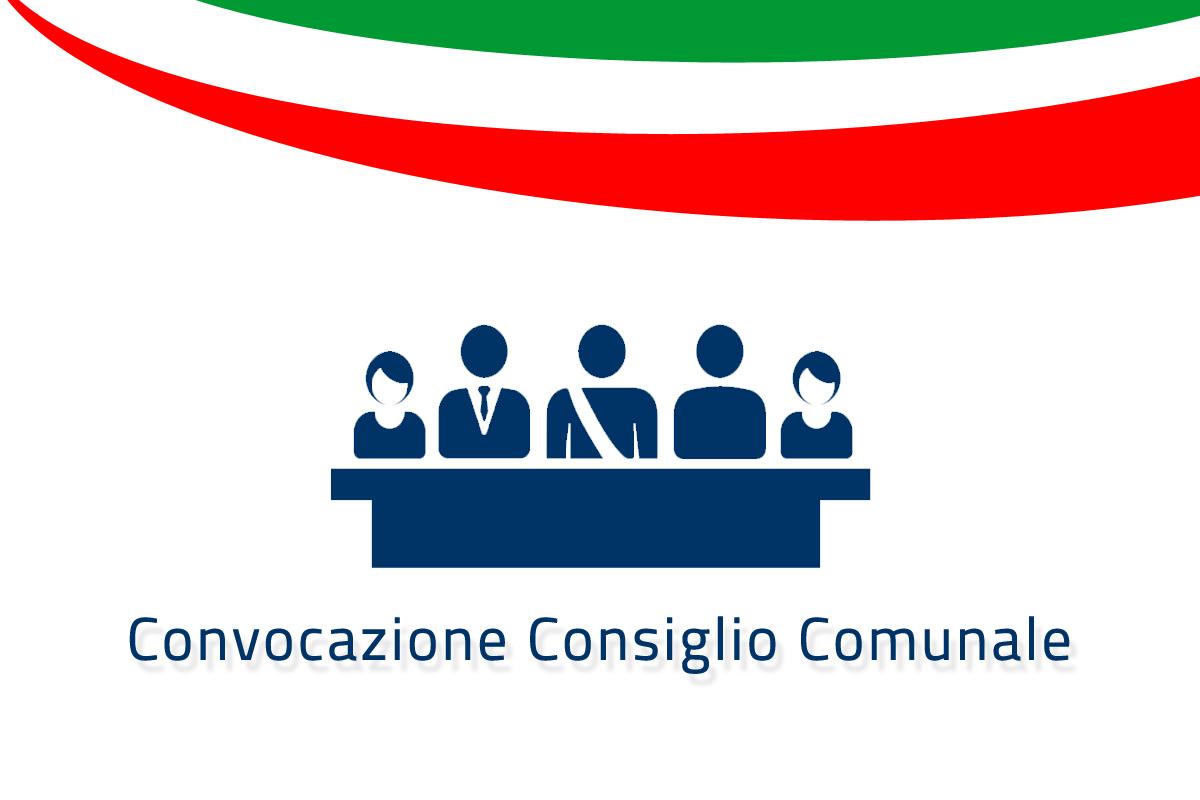 CONVOCAZIONE CONSIGLIO COMUNALE DI LUNEDÌ 31 MAGGIO 2021 ALLE ORE 18,00 IN SEDUTA ORDINARIA